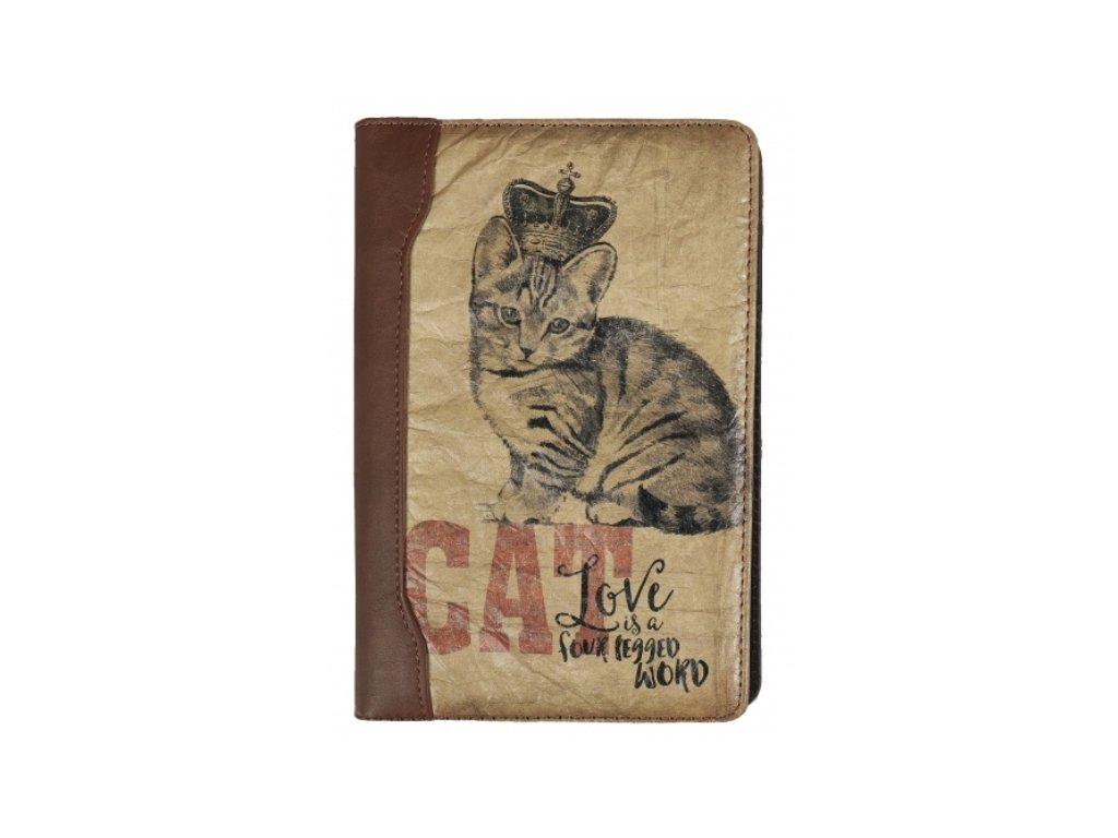 blok diář zápisník kočka kotě s kočkou kočičí