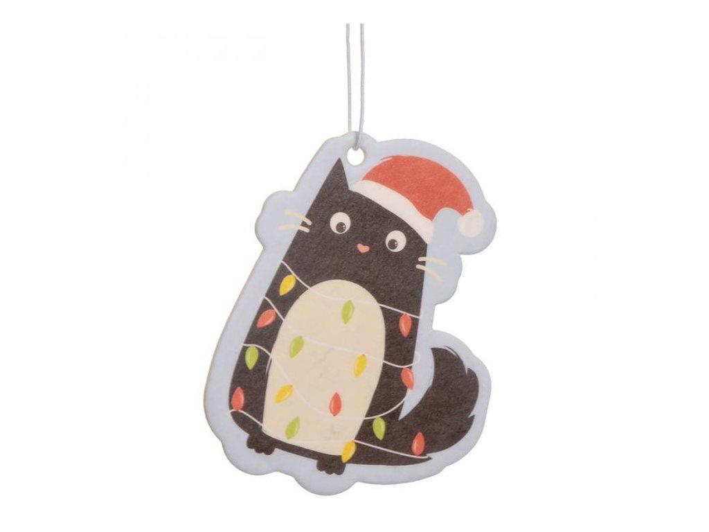 osvěžovaš vzduchu vánoční kočka 2