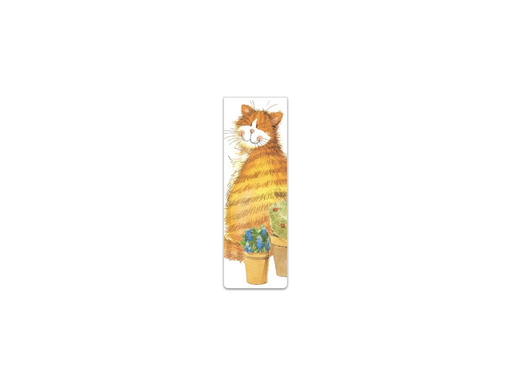 magnetická záložka kočka s kočkou kočičí Alex Clark