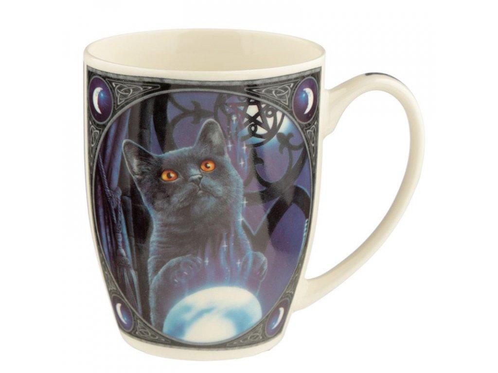 hrnek lisa parker kočka s kočkou kočičí čarodějův učeň