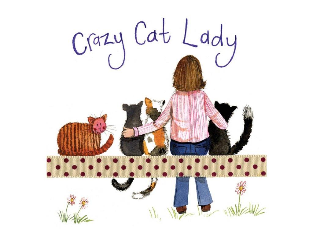 kočiči paní podtácek kočka s kočkou kočičí alex clark
