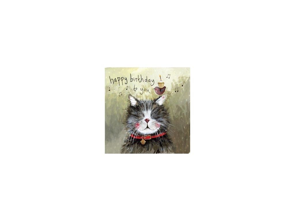 blahopřání kočka s kočkou kočičí kocour alex clark
