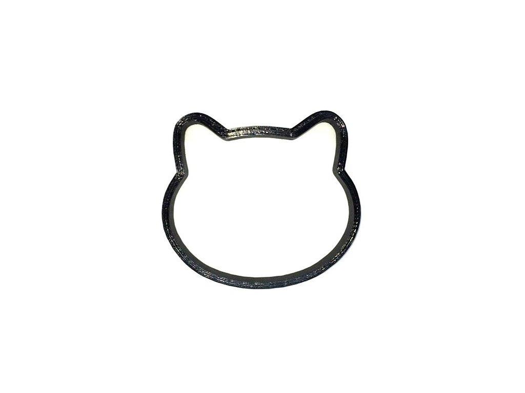 vykrajovátko tvořítko kočka s kočkou kočičí 8 hlava