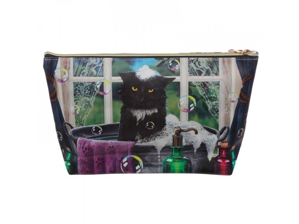 kosmetická taška kočka s kočkou kočičí lisa parker 3