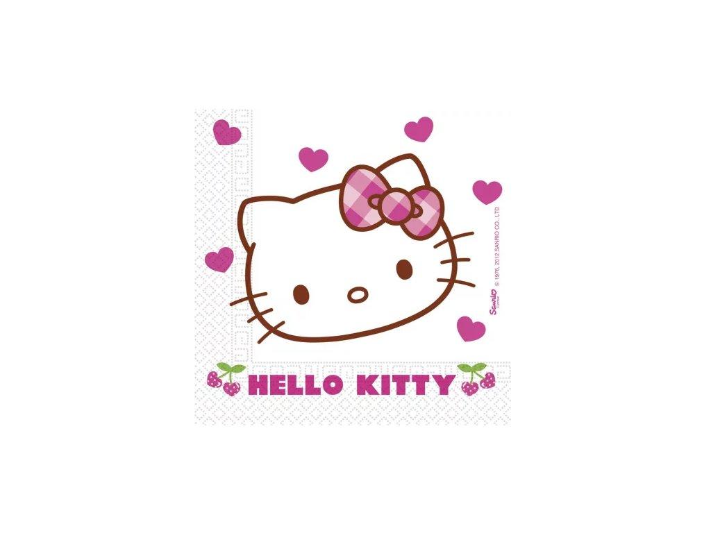 ubrousky sada kočka s kočkou kočičí Hello Kitty