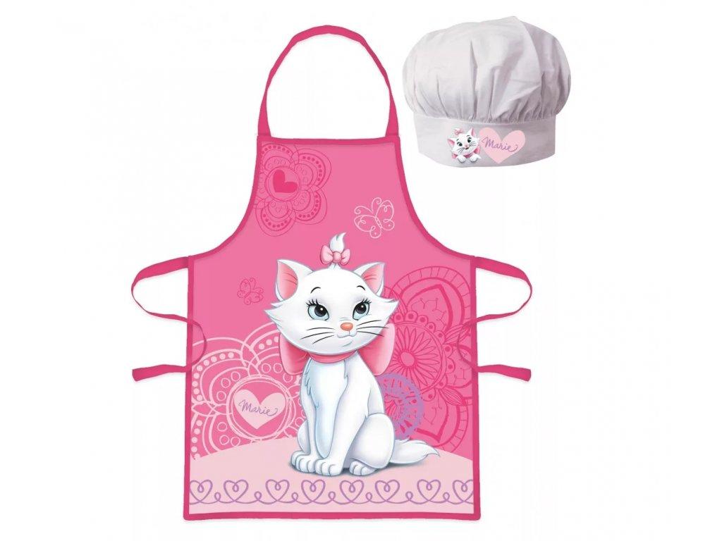kuchařská sada dětská kočka s kočkou kočičí Marie