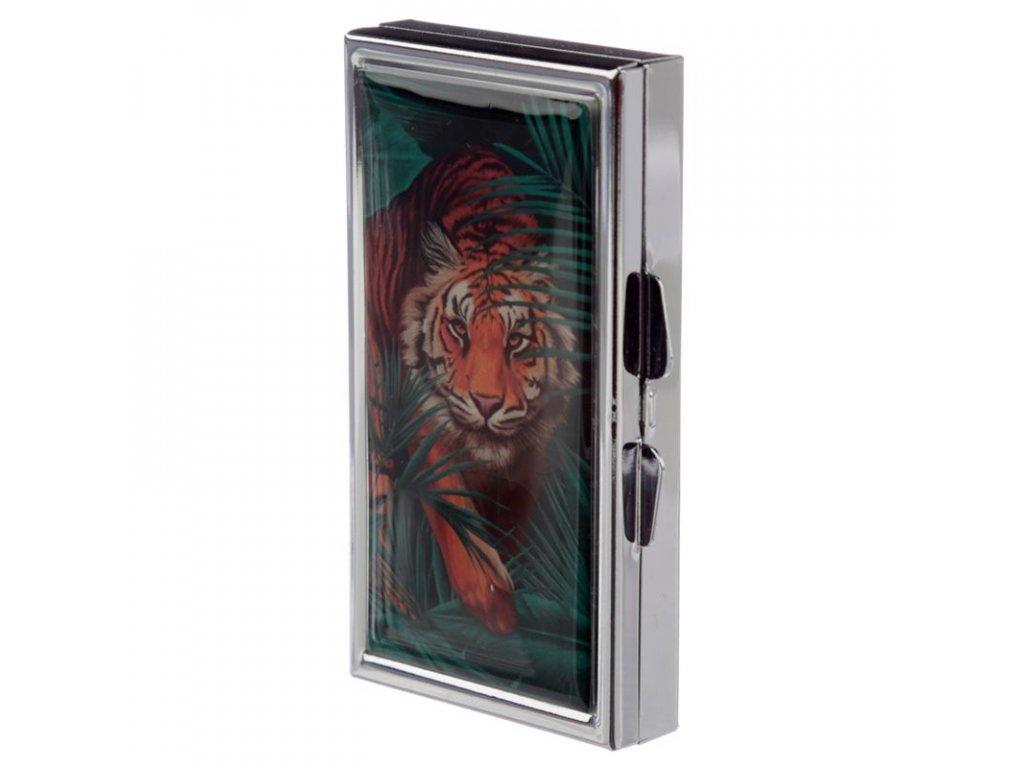 krabička na léka kočka s kočkou kočičí tygr 2
