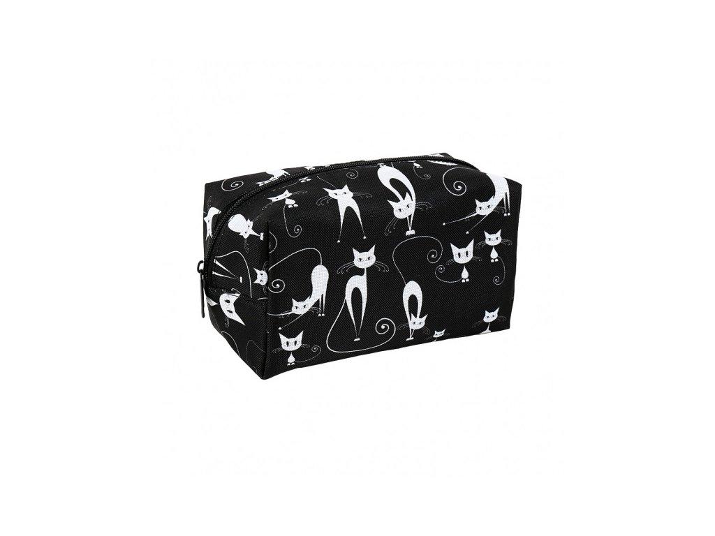 kosmetické pouzdro taška kočka s kočkou kočičí
