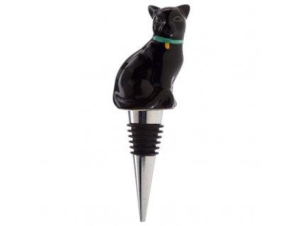 uzávěr na láhve zátka kočka s kočkou kočičí ocel 3