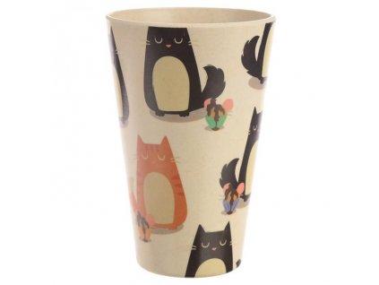ekologický kelímek bambus kočka 2