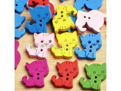 Knoflíky kočka I