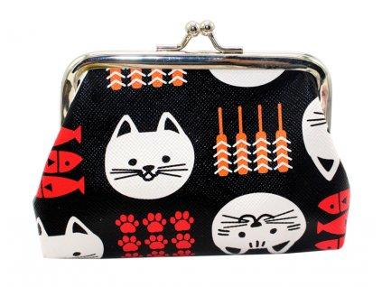 peněženka kočka kočičí malá 6