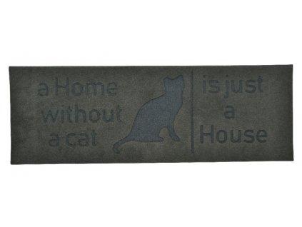 rohožka plstěná kočka