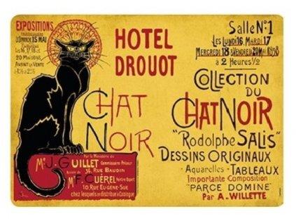 prostírání kočka koičí chat noir