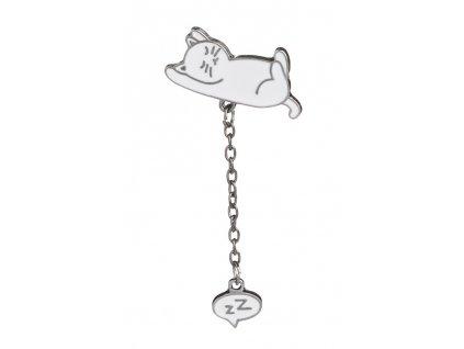 Špendlík spící kočka