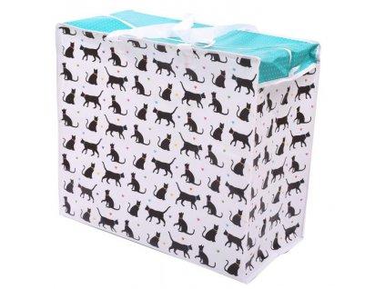 box na prádlo kočka