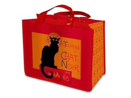 nákupní taška kočka chat noir velká