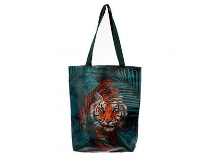 kabelka kočka s kočkou mačka s mačkou tygr tiger