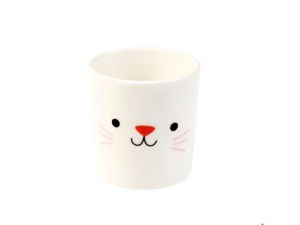 kalíšek na vajíčko vejce kočka s kočkou kočičí cookies