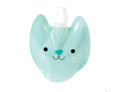 skládací láhev na vodu kočka s kočkou kočičí 2