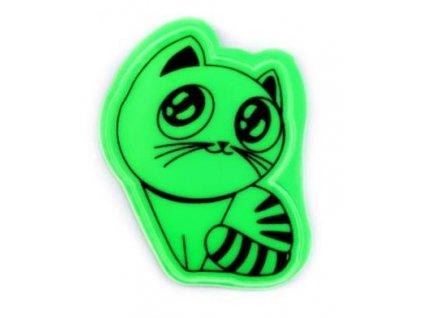 reflexní přívěsek kočka s kočkou kočičí kotě