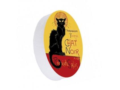 guma kočka s kočkou kočičí chat noir