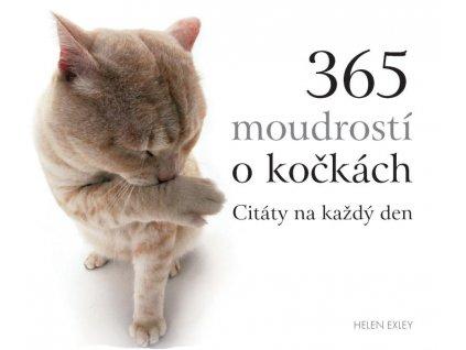 365 moudrostí o kočkách citáty na každý den kniha kočka s kočkou kočičí