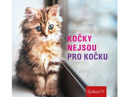 kočky nejsou pro kočku kniha kočka s kočkou kočičí