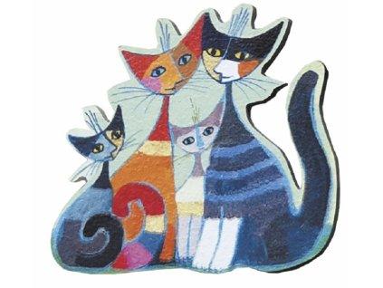 magnetka rosina kočka s kočkou kočičí