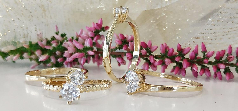 snubné prstene žlté zlato