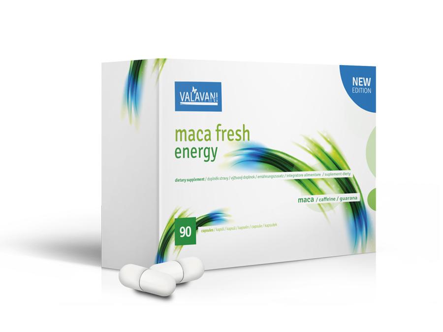 MACA FRESH ENERGY - INTENZÍVNY ŽIVOTABUDIČ