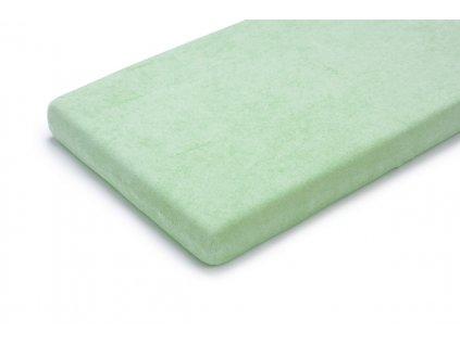 Prostěradlo Maceshka nepropustné froté 70x140cm zelená