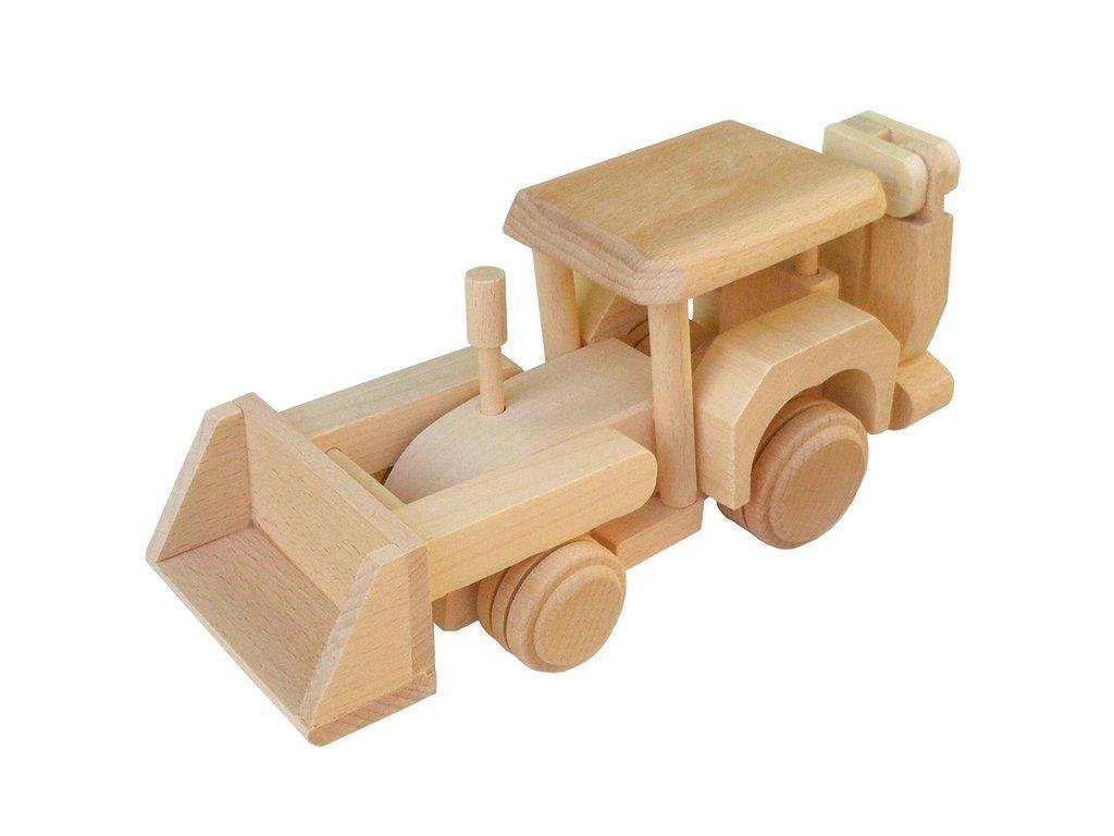 Dřevěný bagr