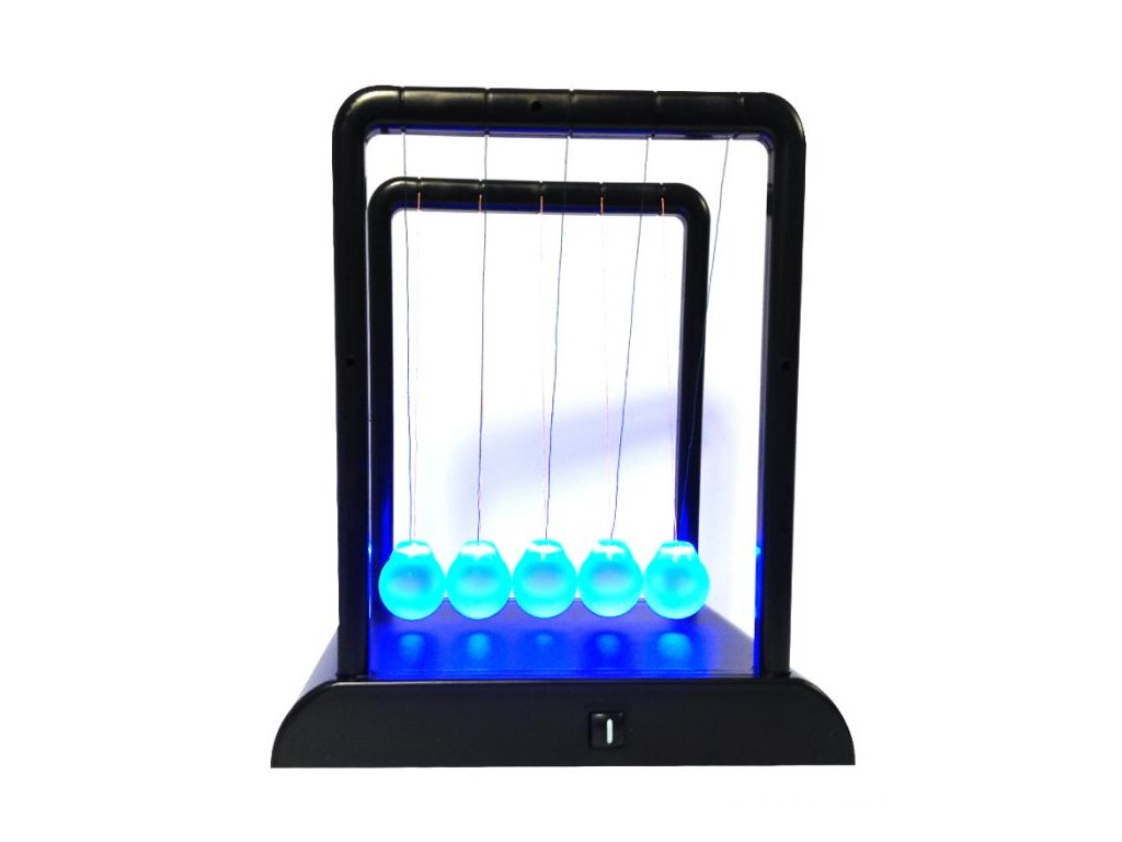 light up newton s cradle