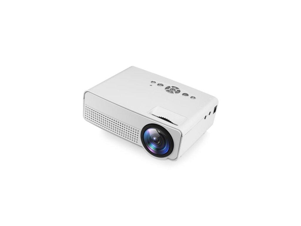 h100 led portable projector white daniellestores 1802 12 F767762 1