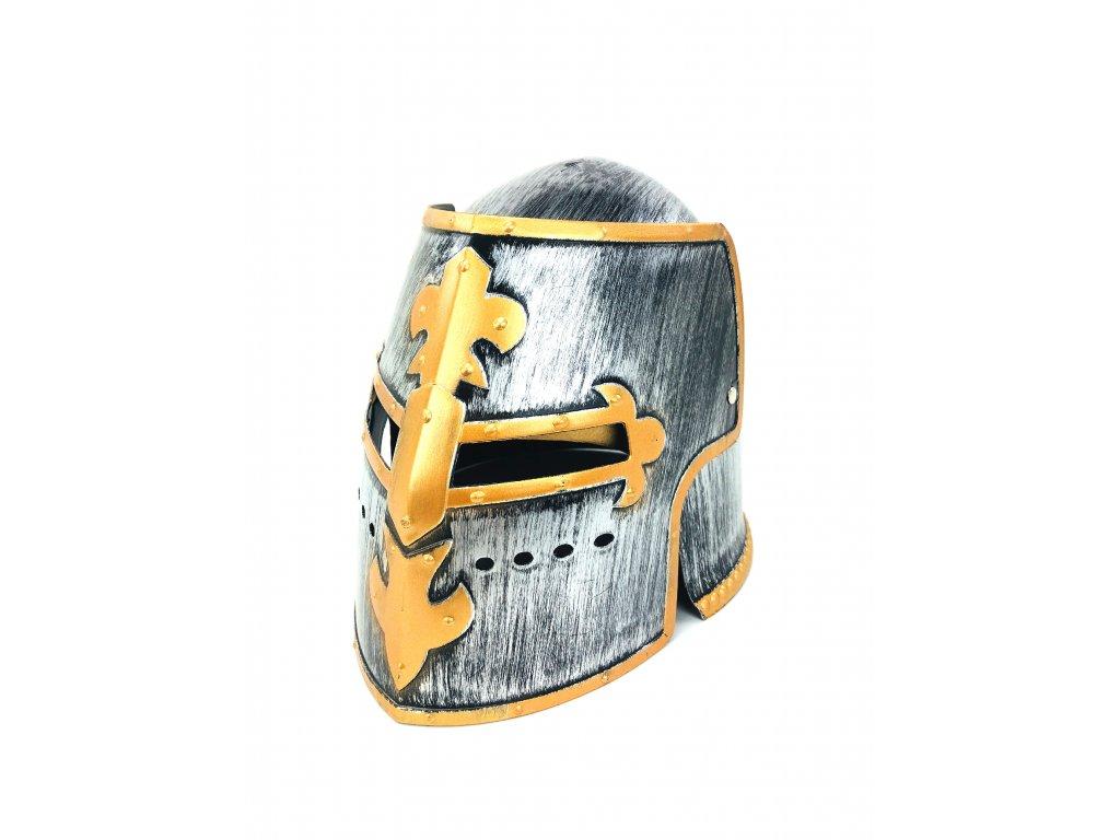 133979 helma bojovnika stribrna typ 3