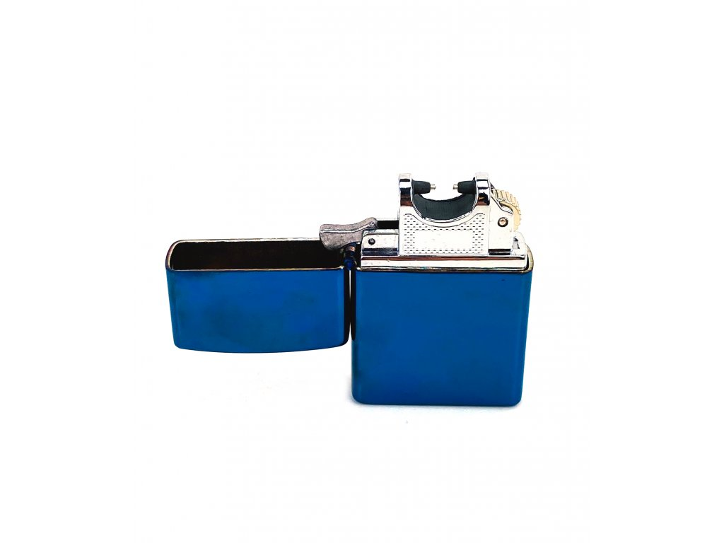 170183 1 elektricky usb zapalovac modry s krabickou