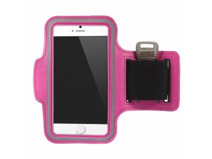 sportovni pouzdro na ruku pro apple iphone 6 6s ruzove
