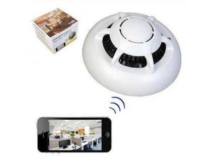 spy ufo smoke detector pinhole wifi ip camera android iphone kindheart 1710 07 F544320 1