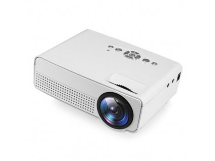 h100 led portable projector white daniellestores 1802 12 F767762 1