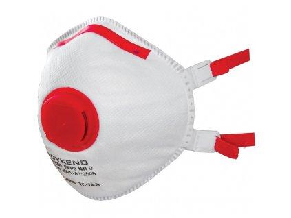 respirator dykeno ffp3 s ventilkem muslovy