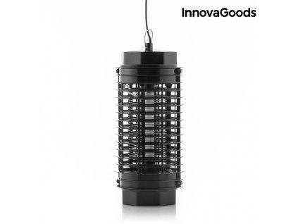 svetelny lapac hmyzu kl 1500 innovagoods 4w cerny (1)