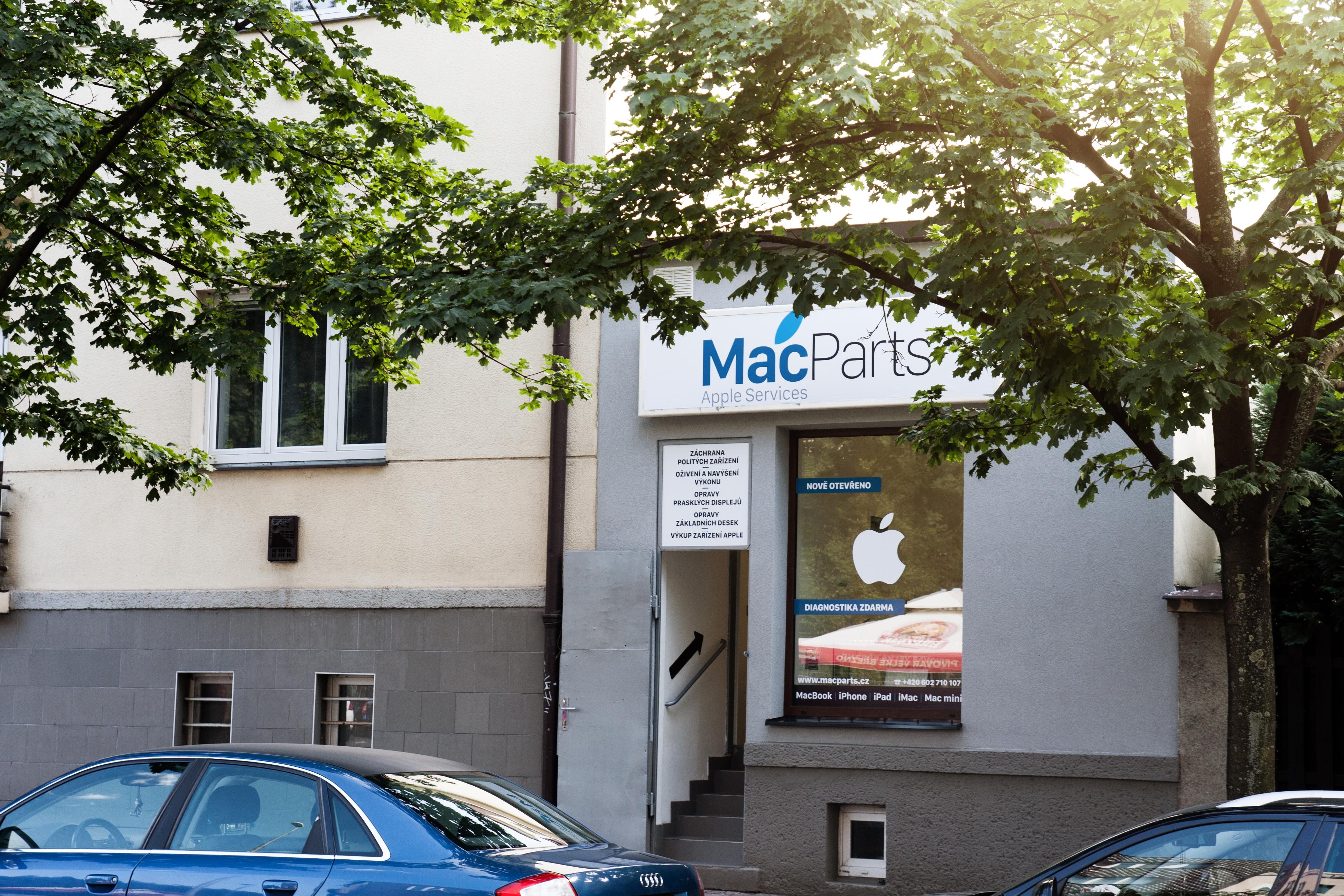 MacParts.cz | Apple servis & Shop | Na Dolinách 632/52, Praha 4