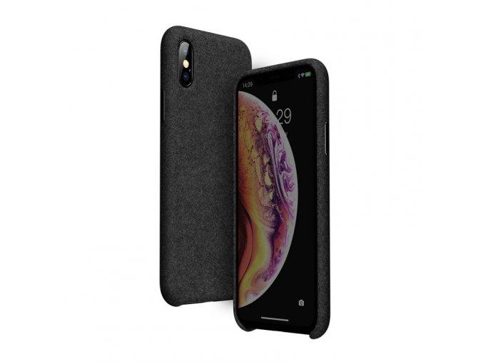 baseus original super fiber case for iphone x xs black