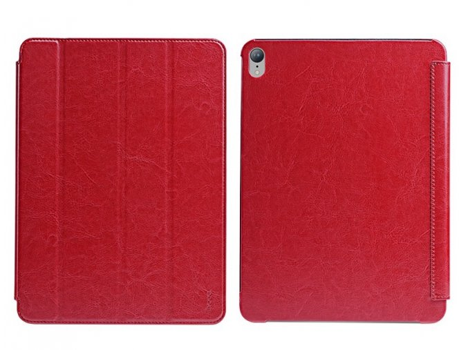hoco crystal series protective case for ipad pro 12 9 red