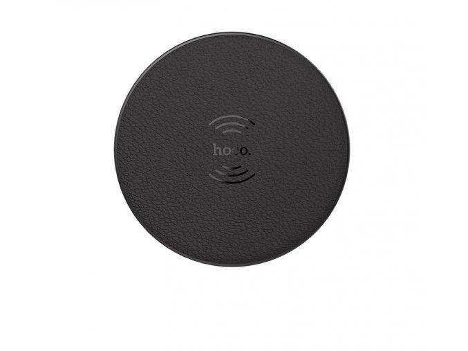 hoco round wireless charger black
