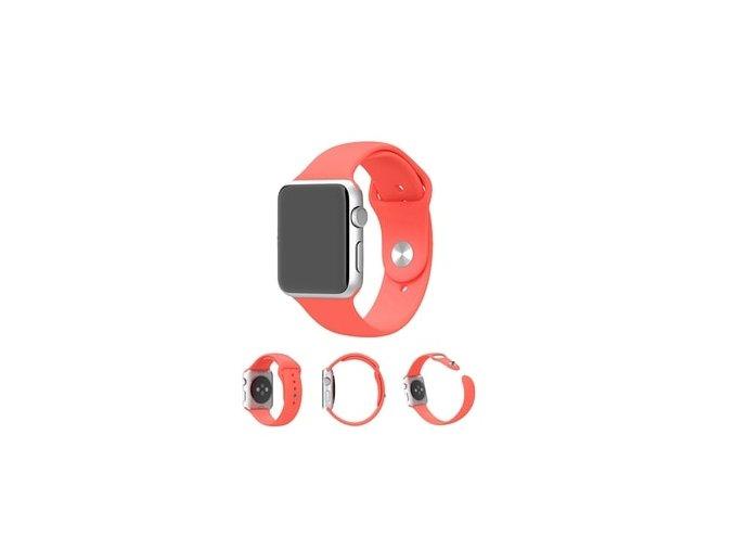 apple wach 3 42mm červeny