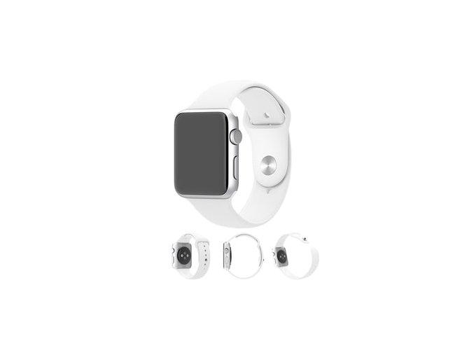 apple watch 42mm 44mm bily