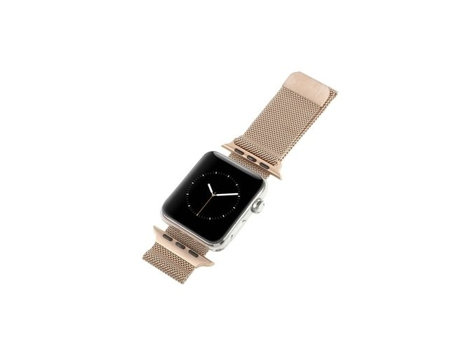 apple watch 38mm 40mm milanese rose gold