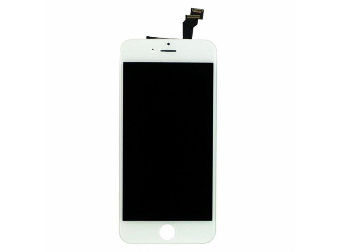 nahradni lcd displej s dotykovym sklem rameckem pro apple iphone 6 bily